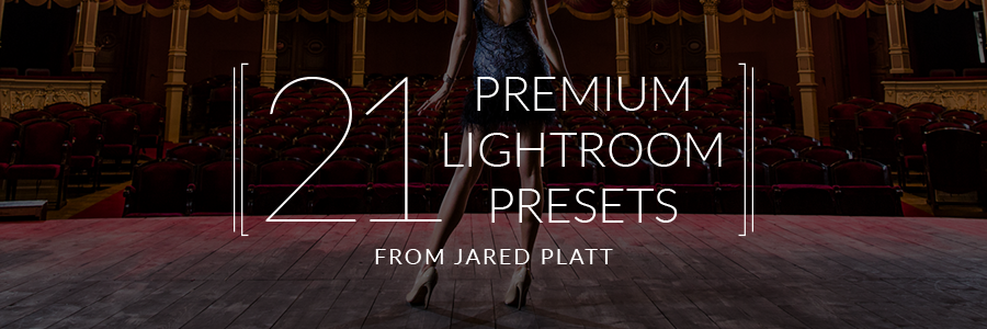 21 Premium Presets from Jared Platt